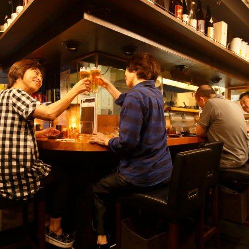 酒肴のうまさは互角。東京東端、小岩・新小岩の名酒場街!