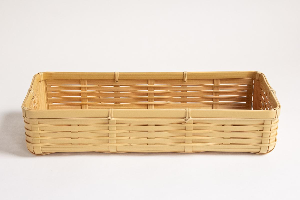 大分の竹のカトラリートレイ6600円。