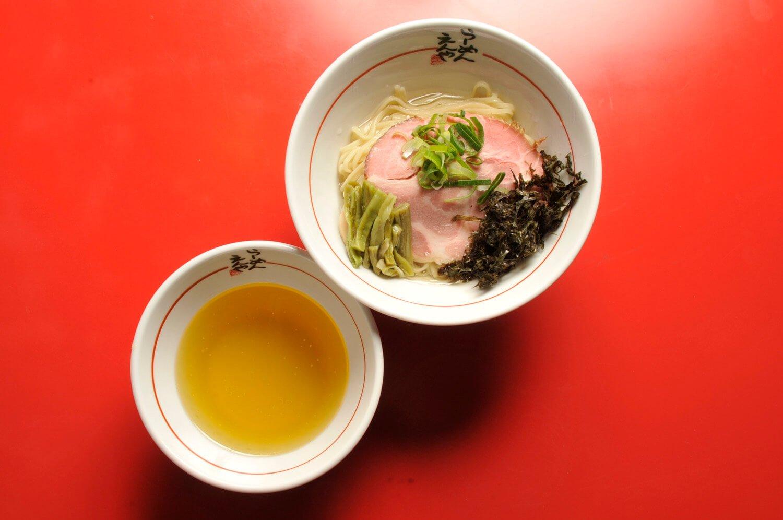 塩つけ麺~煮干し出汁かけ~900円