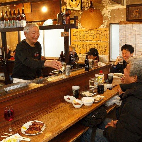 武蔵小山は、城南屈指の昼飲み居酒屋天国なのだ