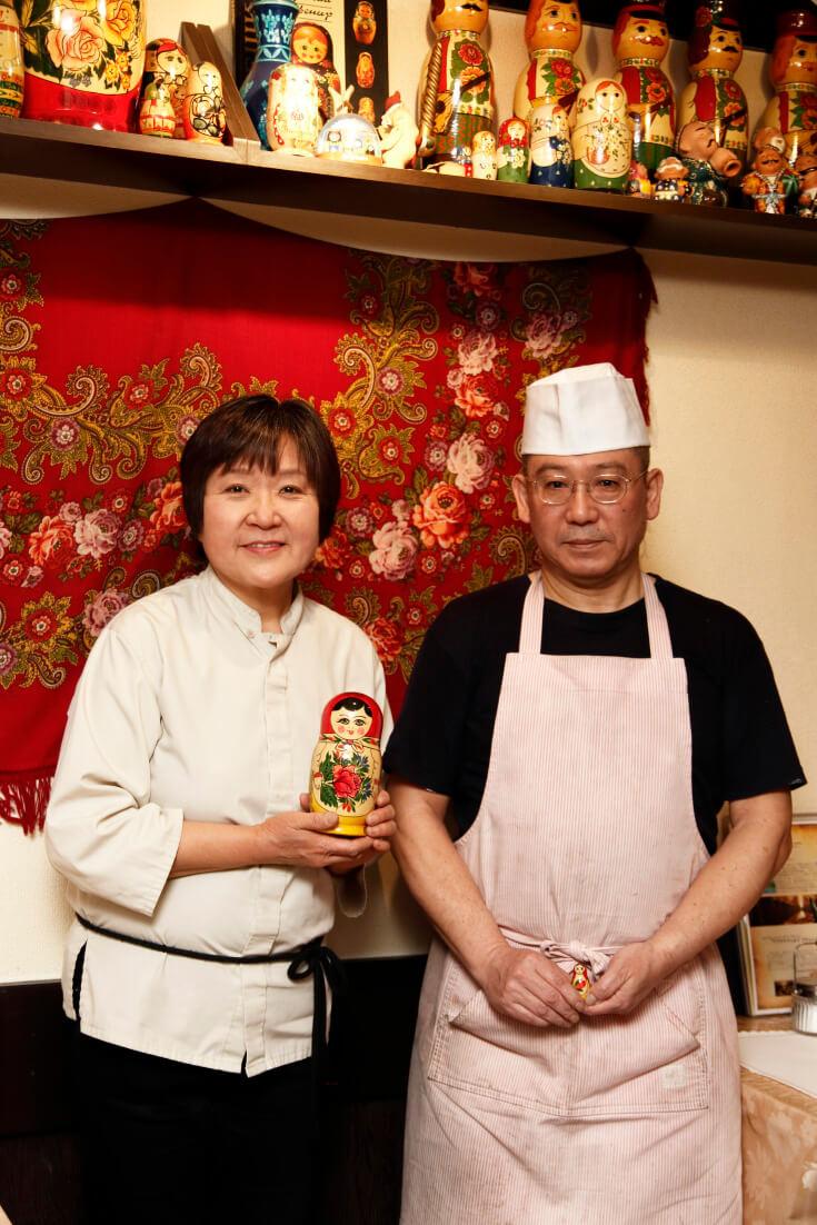 星野さんと妻・和子さん。