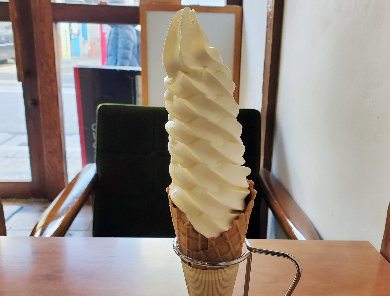 シロクマカフェ ソフトクリーム