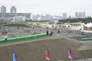 東京オリンピックを歩く