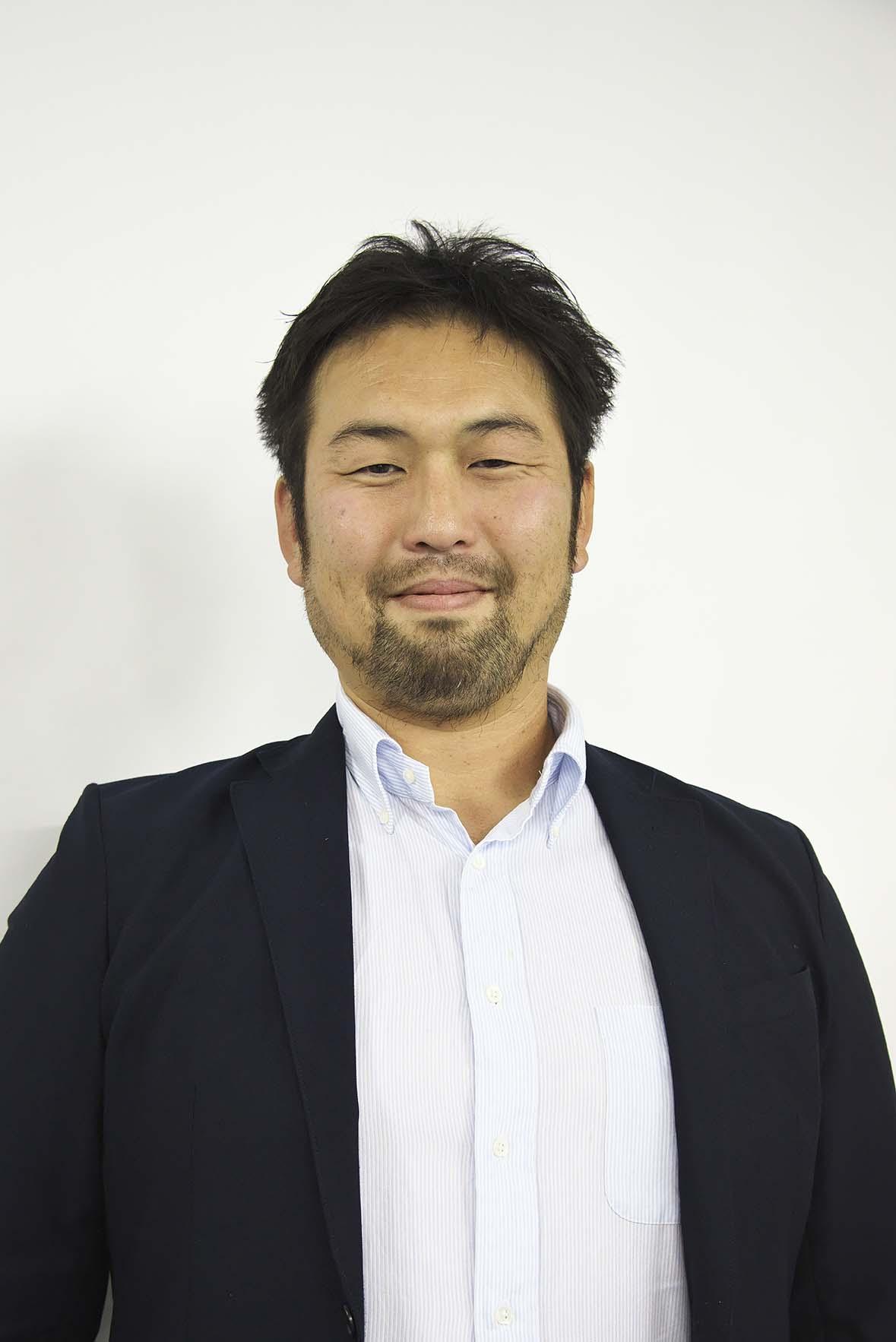 全日本BMX連盟広報担当の猪俣健一さん。元マウンテンバイク選手で、カメラマンとしても活躍中。
