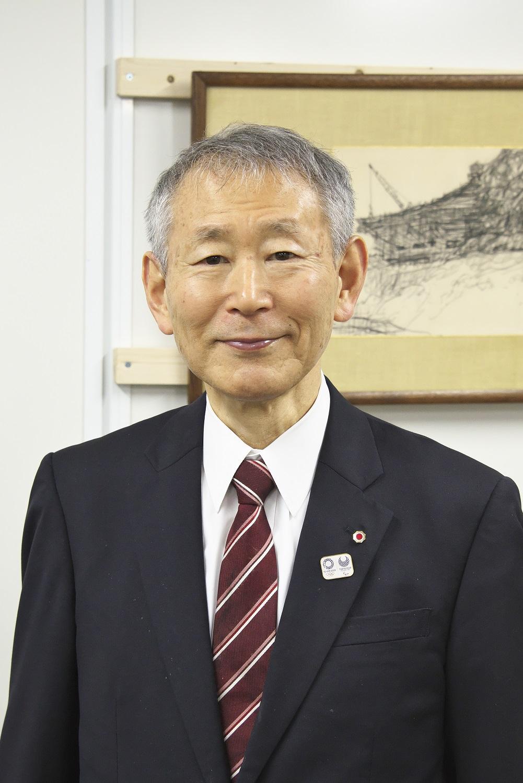 日本武道館事務局長の三藤芳生さん。正式種目決定前に空手は当館でと決心した。