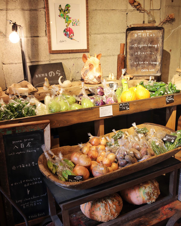 珍しい西洋野菜も販売。