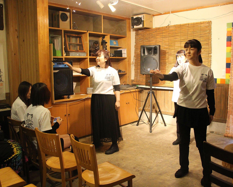 手話パフォーマンスグループ・Signのライブも行われた。