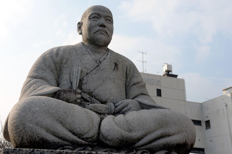 田中吉政像。