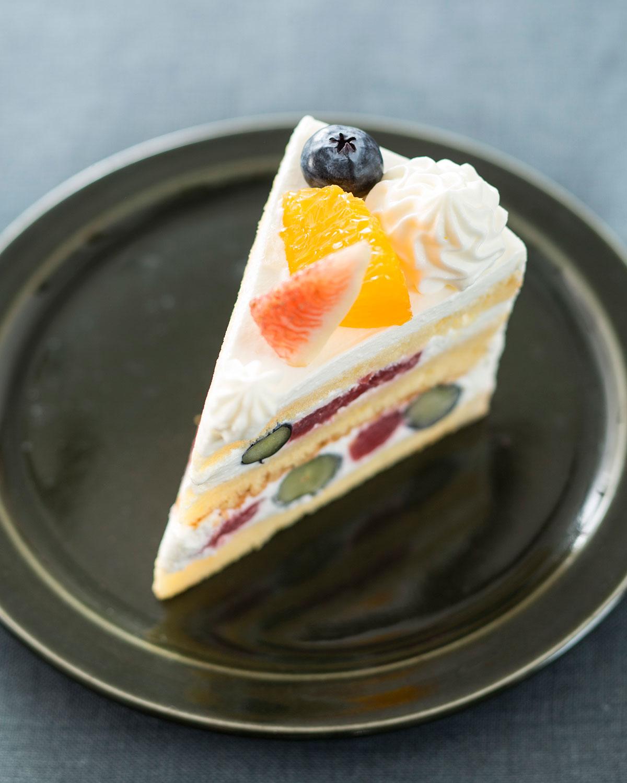 フルーツのショートケーキ480円。
