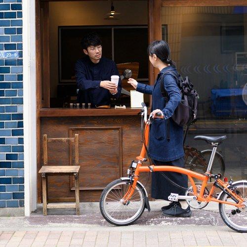 目的地は、ホッとひと息つける場所。自転車で行きたいカフェ