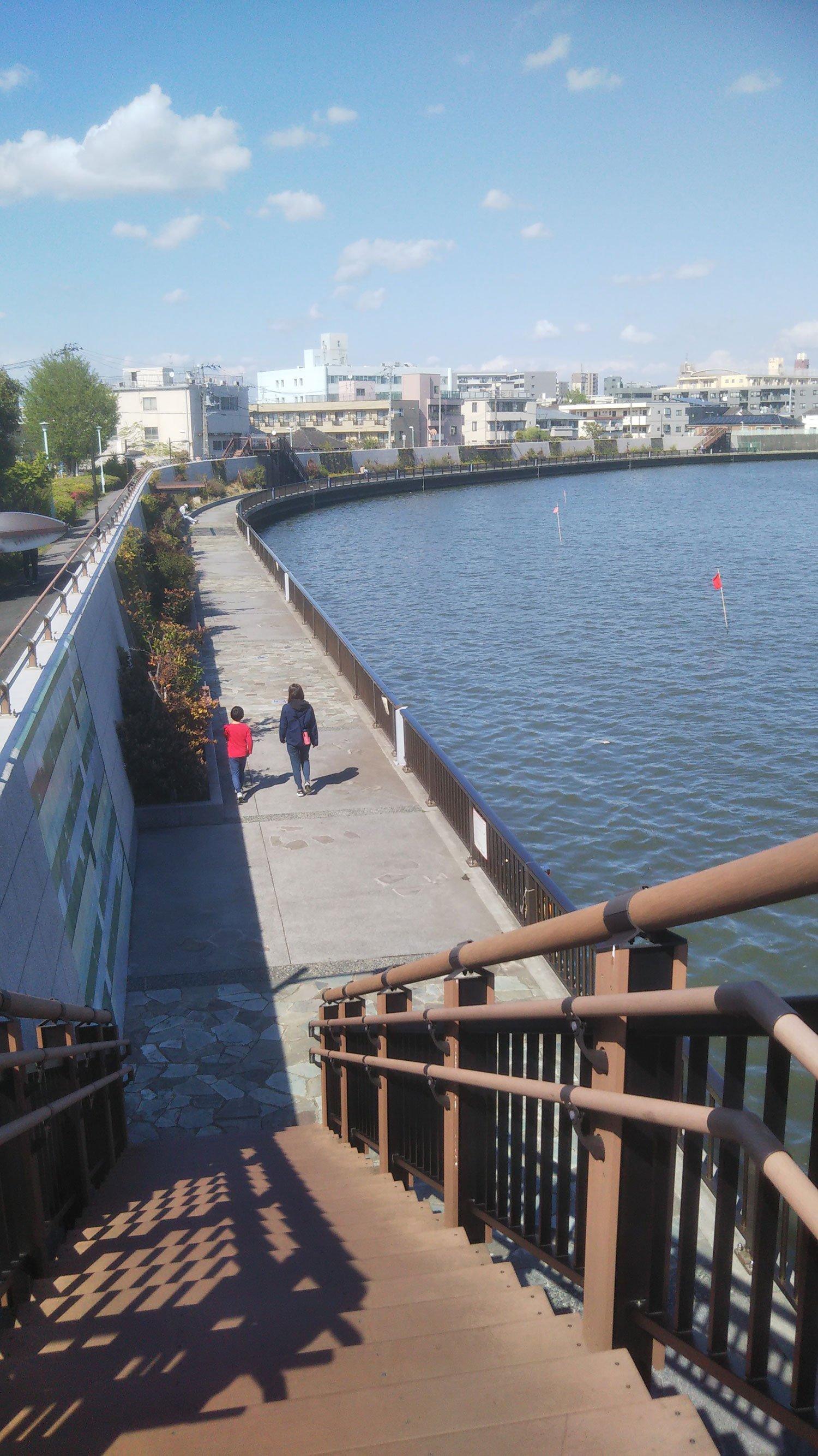 江戸川もいいけど、中川もまた葛飾的風情がgoodです。