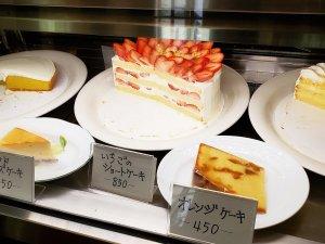 grace ショーケース ケーキ