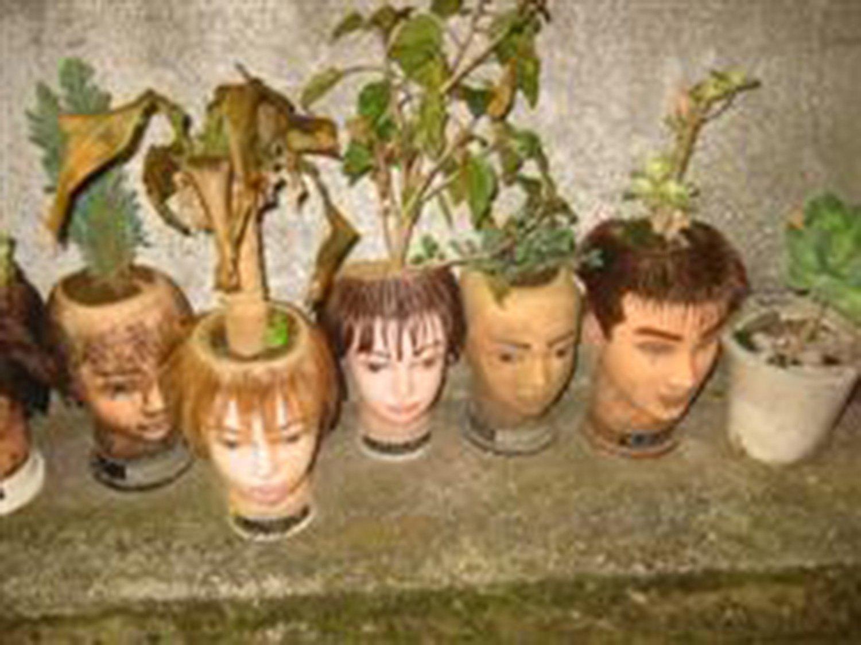 鎌倉のマネキン達(2005年撮影)