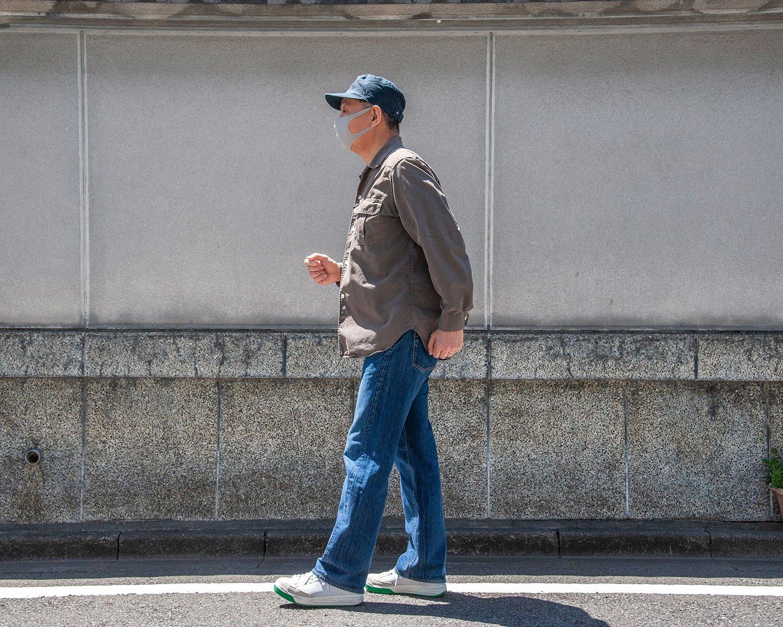 通常の歩き方