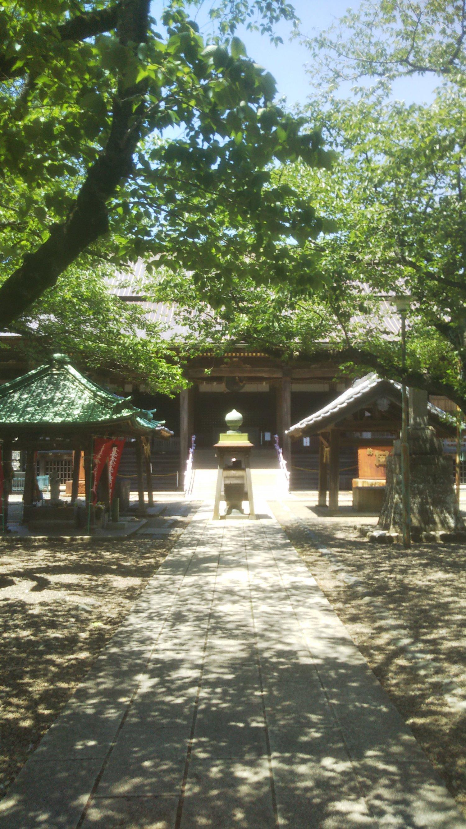 法華経寺の祖師堂と