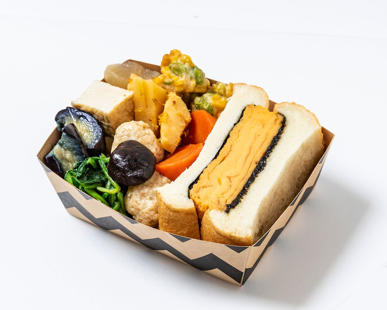 狙いは、和×パンという意外性。「大森・ノリにのってるのりたまサンド」を勝手にプロデュース!