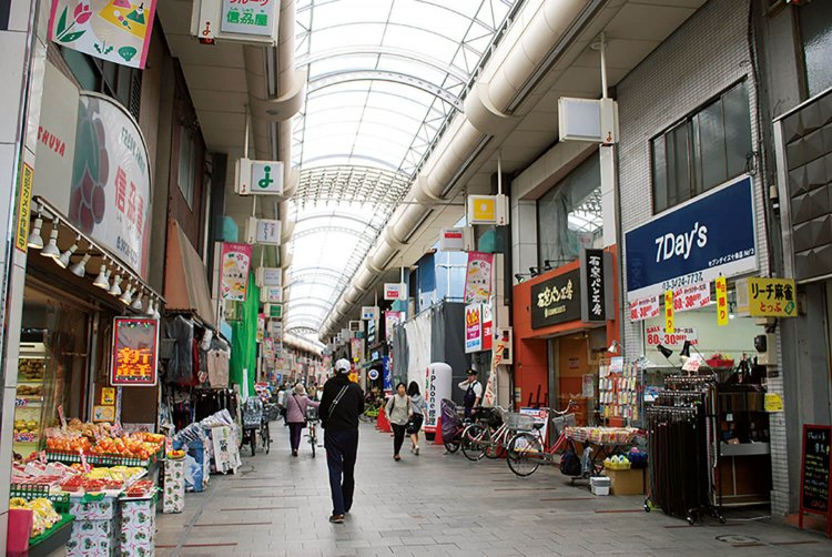 十条銀座商店街(じゅうじょうぎんざしょうてんがい)