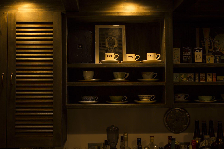 マサコカップも並ぶ。