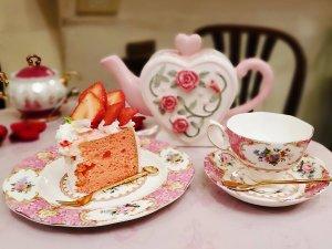 アコリット ロゼのシフォンケーキ