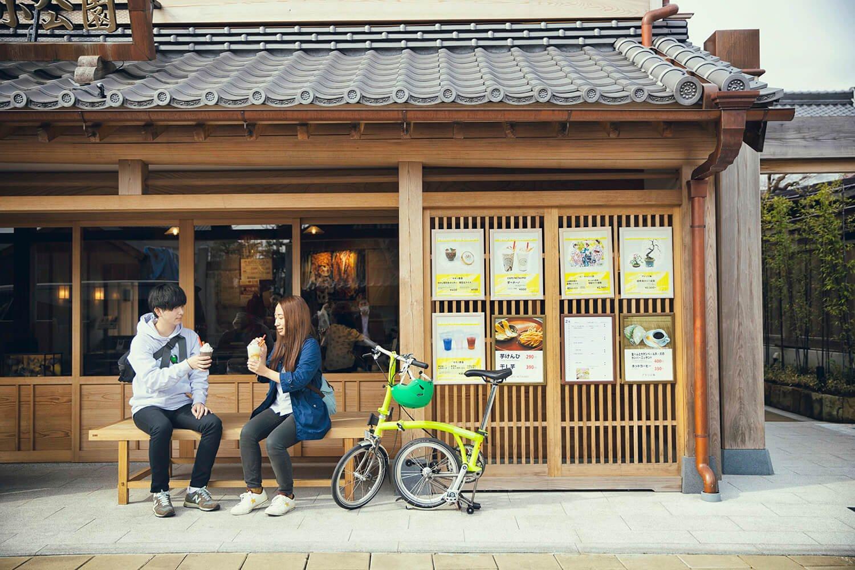 さわら町屋館(上川岸小公園)の『CAFE NETAIMO』の芋ぺちーの500円を飲みながら小休憩。10:00~18:00、月休(祝の場合は翌火休)。 ☎0478-59-0784