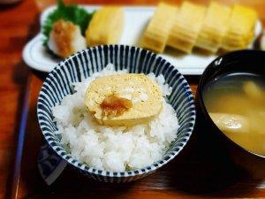 小苦楽 出汁巻定食01