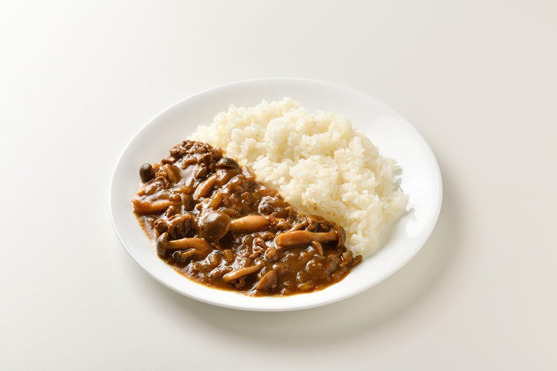 しめじ+牛肉のおしゃれ土屋家カレー。