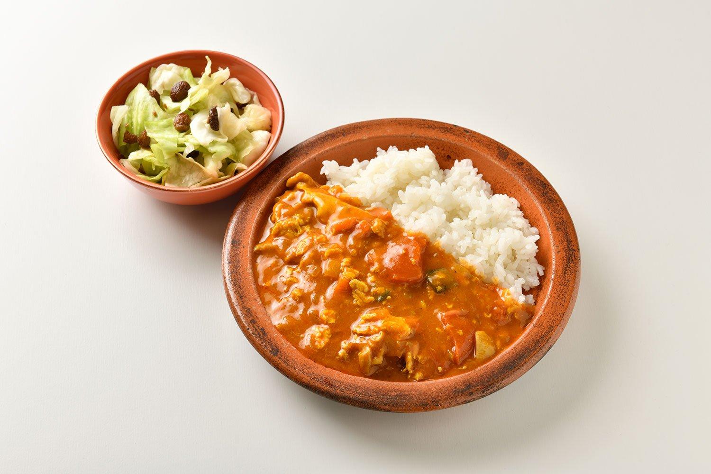 野菜スープ再利用の古澤家カレー。