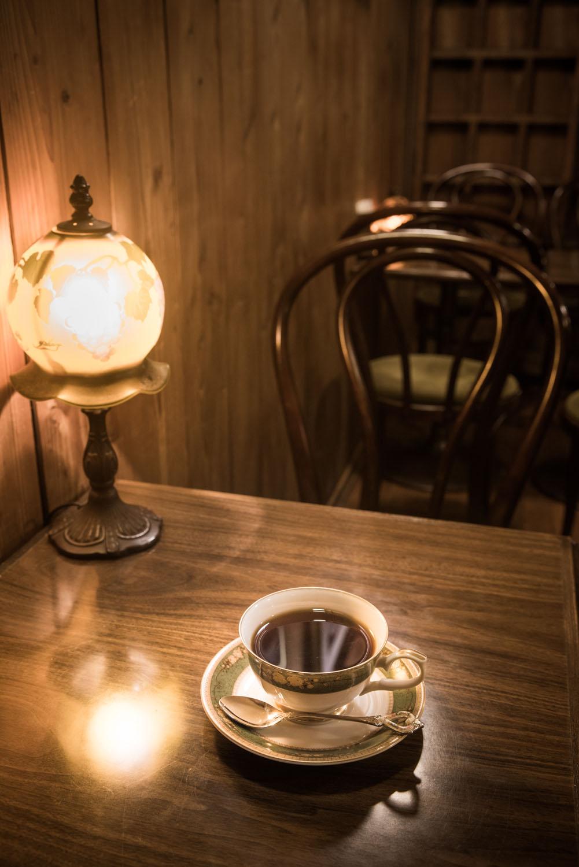 ホットコーヒー500円、アイスコーヒー520円。
