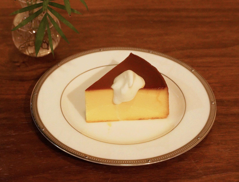 自家製チーズケーキ450円。
