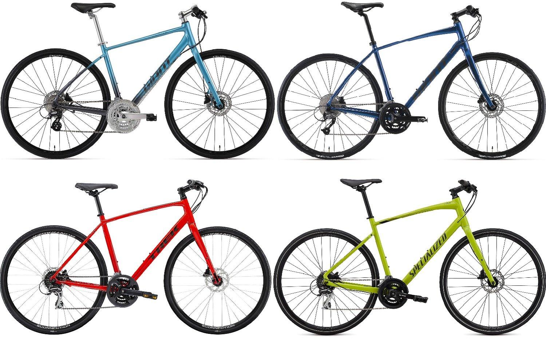 クロスバイクが欲しいけど、そもそもロードバイクとどうちがうの?……という方におすすめのクロスバイク4選