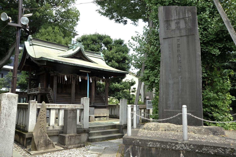 志茂熊野神社(しもくまのじんじゃ)