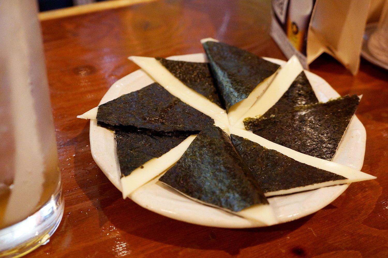 のりチーズ350円。