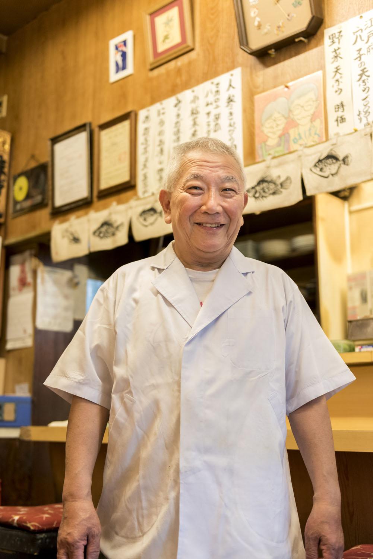 和食歴約50年の元さん。