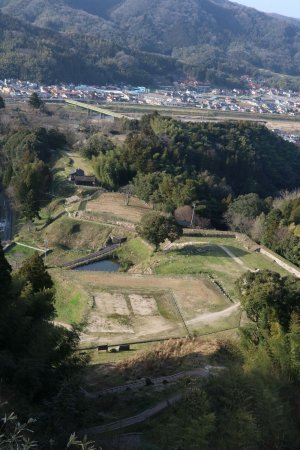 月山富田城09