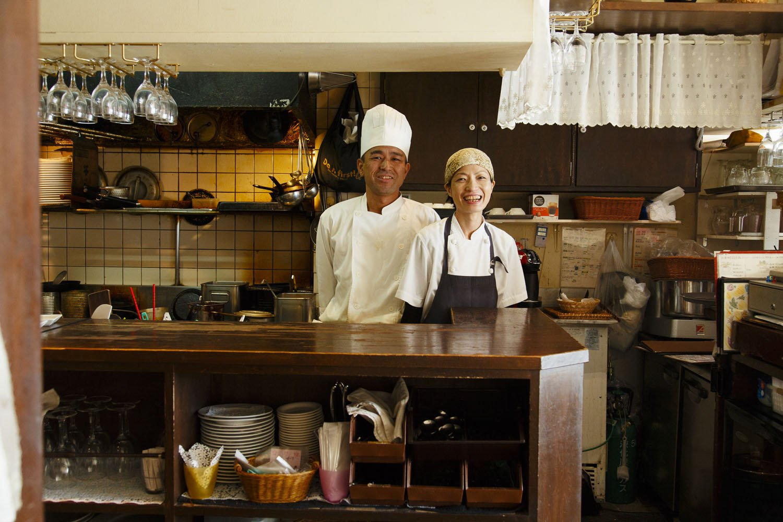 大輔さんと恵さん。