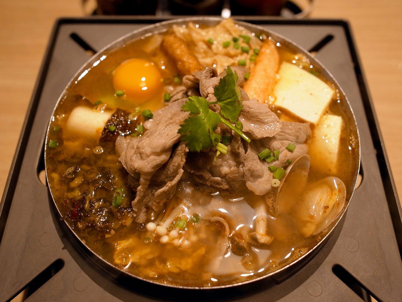 高菜ラム1738円。