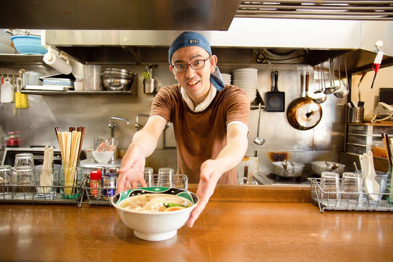 長沼さん。修業先は湯島の人気店『大喜』。