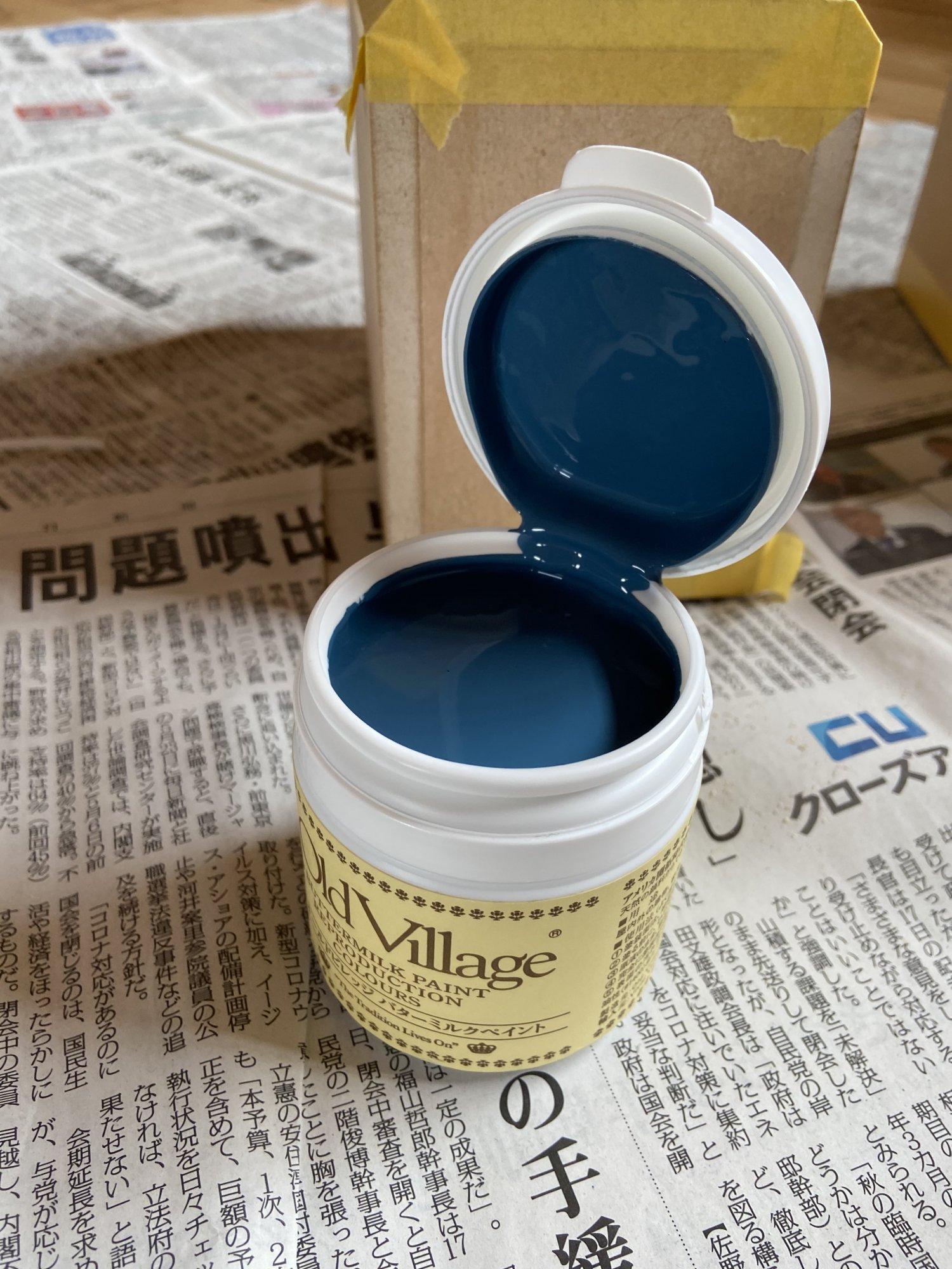 憧れのJBLカラーを実現させる「Old Village」の塗料。