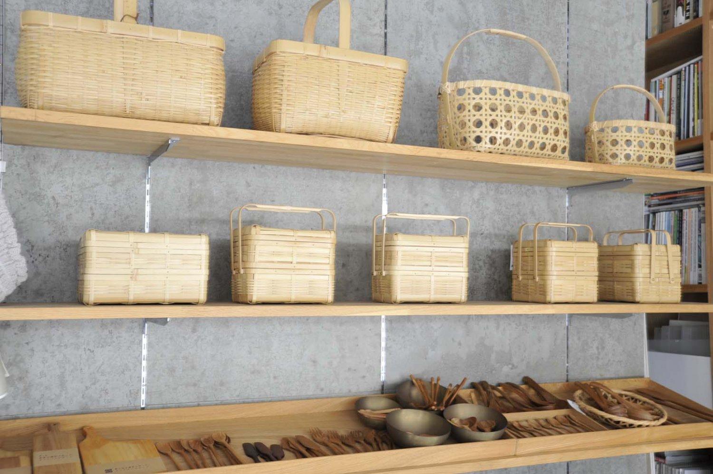 職人の丁寧な手仕事により作り出された日本の竹カゴシリーズ。