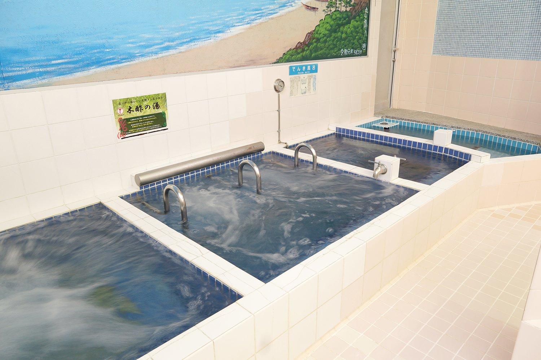 風呂 温度 水