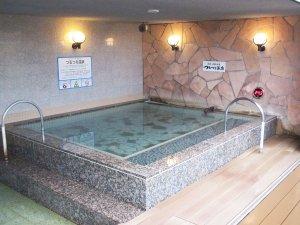 1.露天風呂「つるつる温泉」