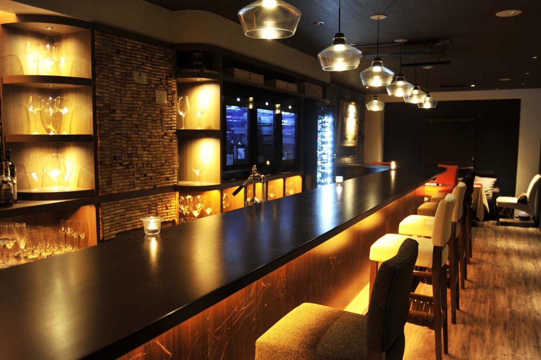蒲田_バー_wine bar LOOPY_カウンター