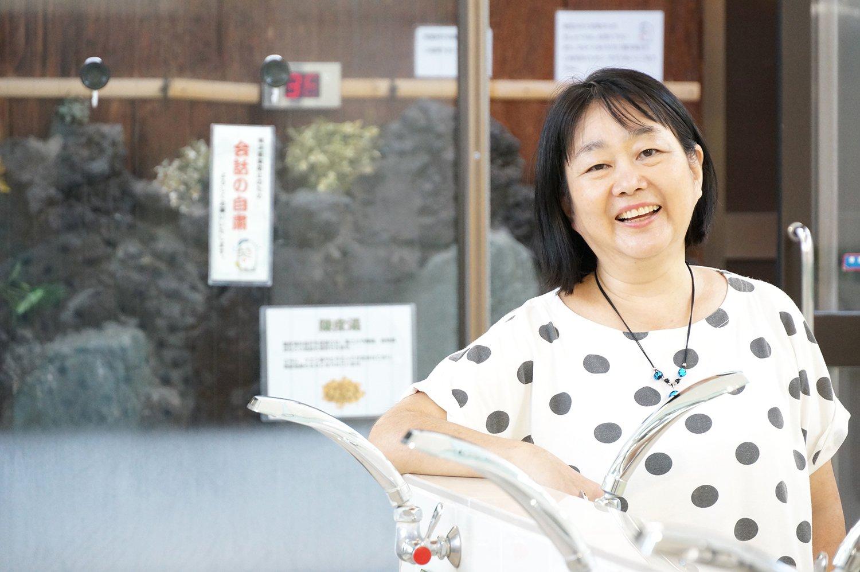 3代目の久留島章子さん。
