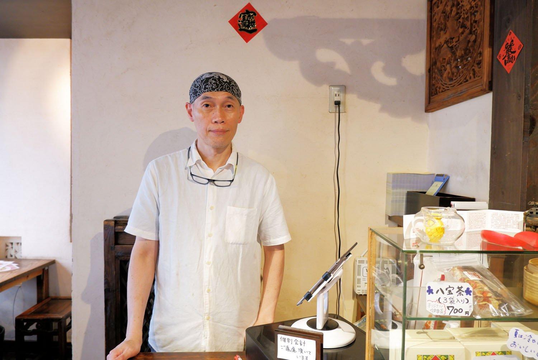 オーナーの楊明龍さん。