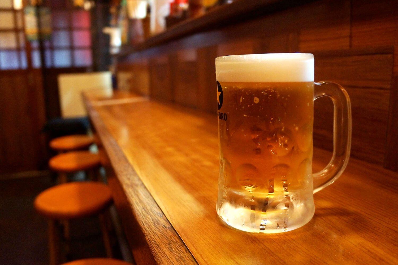 生ビール中500円。