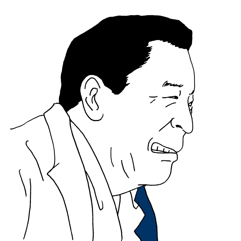 第10作、「いいやつだねぇ寅は」と言ってタコ社長に目配せするおいちゃん