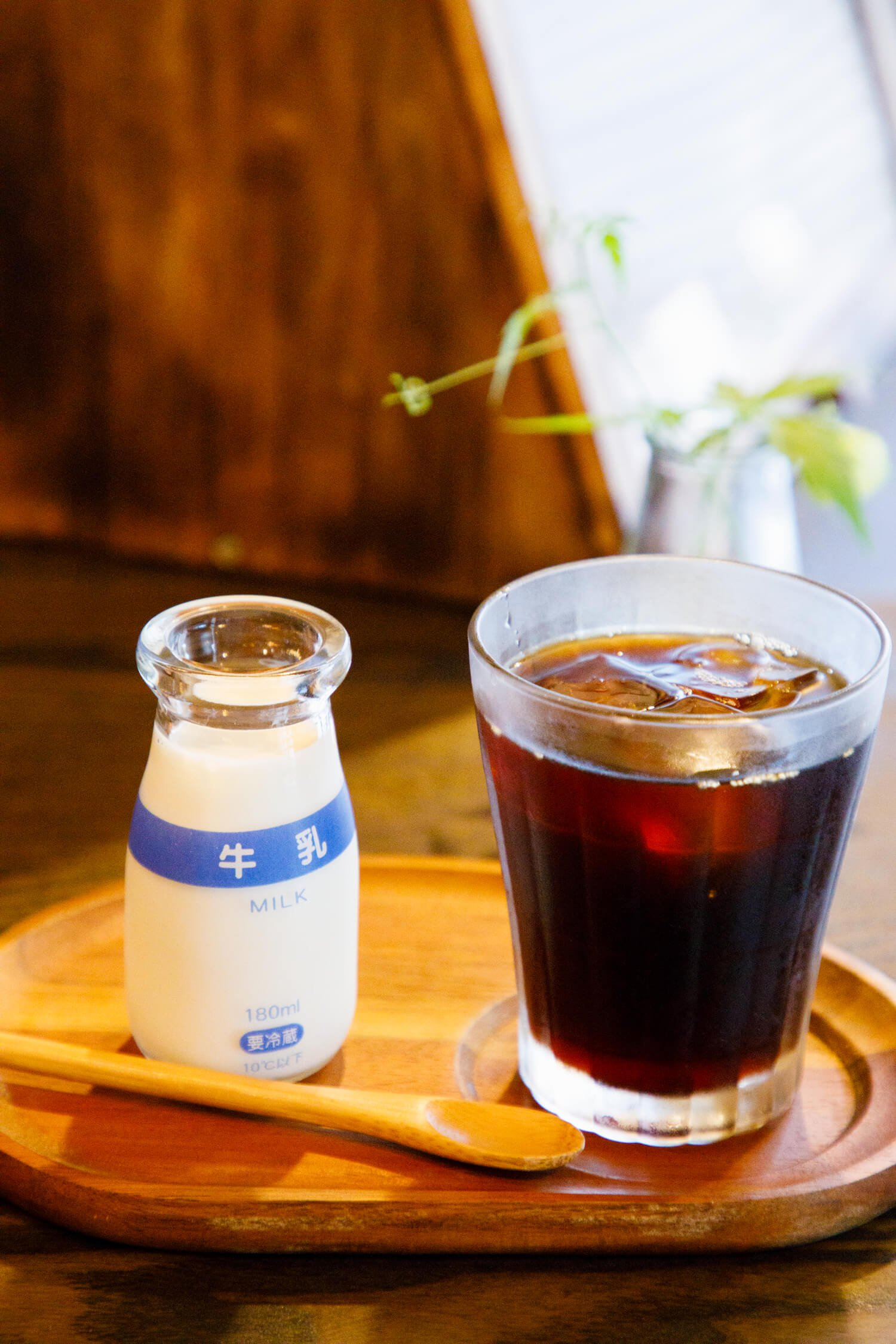 川越メル珈琲コーヒー黒白
