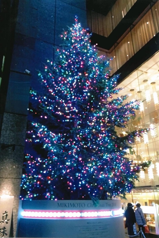 銀座ミキモトクリスマスツリー04
