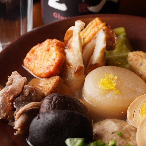 澄んだだしのおでんと旬の食材。職人のセンスが光る、赤羽『おでんと旬菜魚 中々』