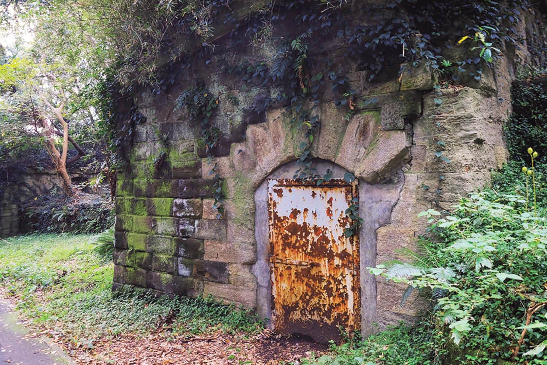 第二砲台の弾薬庫。